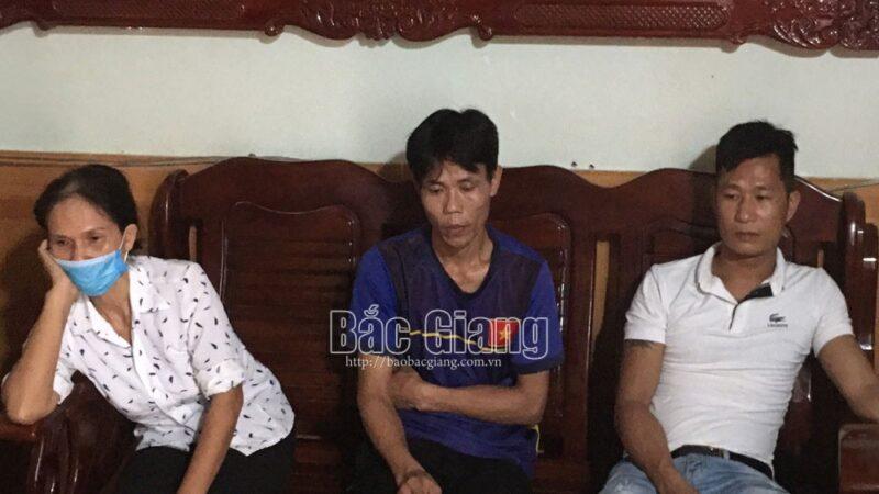 Bắt quả tang 6 đối tượng tụ tập đánh bạc ăn tiền tại Bắc Giang