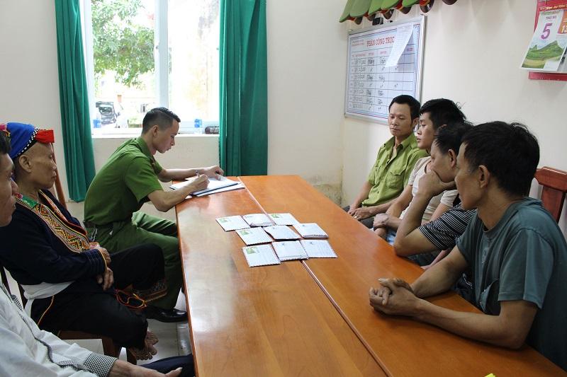 Triệt phá tụ điểm đánh bạc tại Thái Nguyên, bắt giữ 7 đối tượng