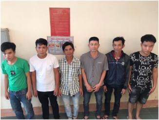 Bình Định: Triệt phá 2 ổ nhóm đánh bạc ăn tiền