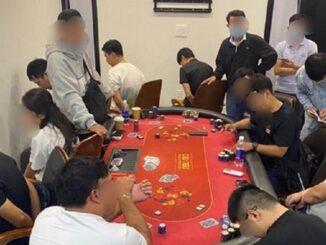 TP. HCM: Đánh sập tụ điểm đánh bạc poker trong khu Palm Residence cao cấp