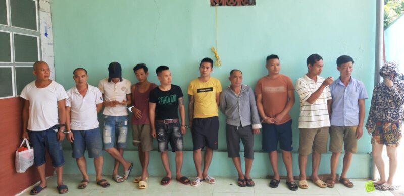 Triệt xóa ổ nhóm đánh bạc lớn tại huyện Bắc Quang, Hà Giang