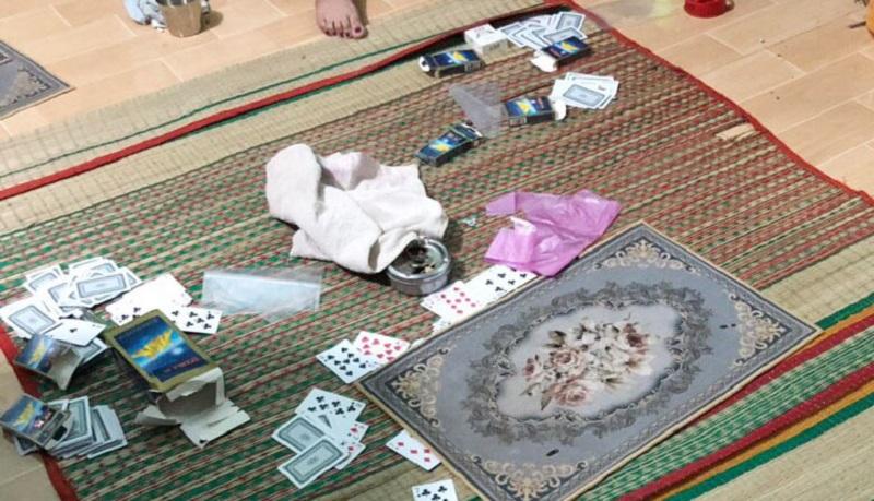 Bình Dương: Đột kích tụ điểm đánh bạc quý bà tại xã Minh Tân, huyện Dầu Tiếng