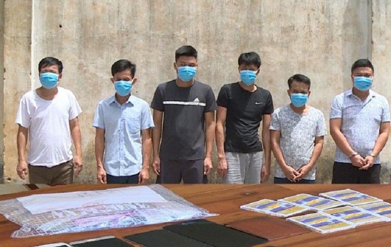 Triệt phá tụ điểm đánh bạc quy mô lớn tại Thanh Hóa, thu giữ hơn 200 triệu đồng