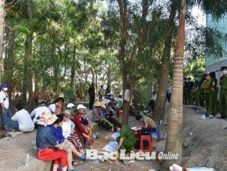 Phá ổ nhóm đánh bài ăn tiền quy mô lớn tại Bạc Liêu