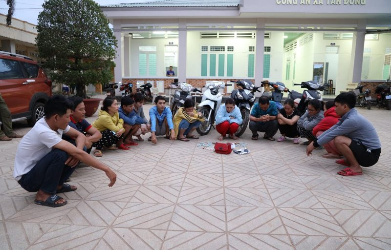 Triệt xóa tụ điểm đánh bạc quy mô lớn tại Tây Ninh