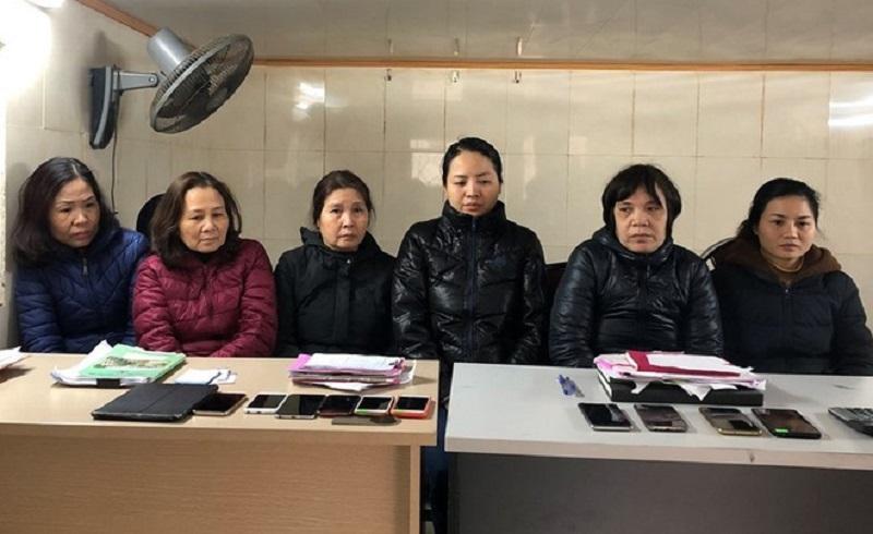 Bắt giữ 6 phụ nữ liên quan đến đường dây đánh bạc lớn