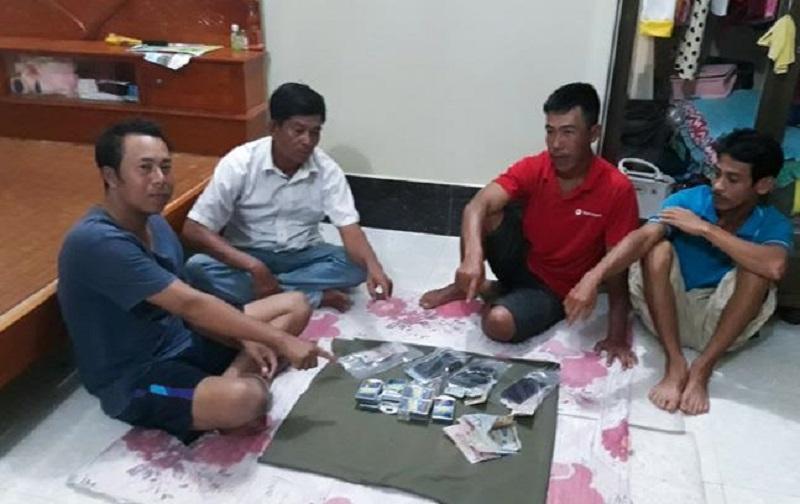 Đột kích 'sới' bạc ăn tiền lớn tại Sóc Trăng